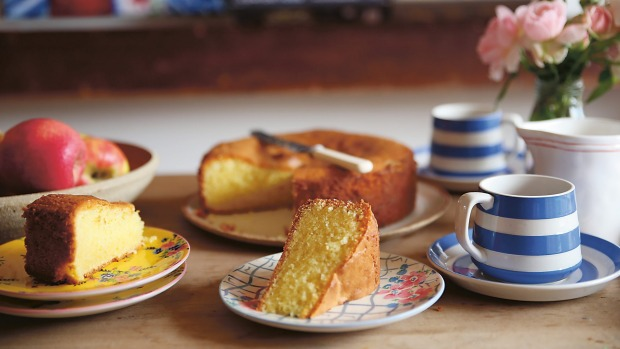 The original visitor cake. RecipeextractforGoodFood, May 2021 from In Good Company by Sophie Hansen, published by Murdoch Books RRP $39.99 photography Sophie Hansen. GoodFooduse only. Simple cakes and bakes for Mother's Day.