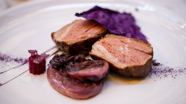 Lamb with red cabbage, four ways.