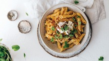 This saucy vodka pasta is perfect for entertaining.