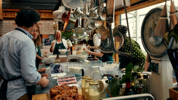 Daylesford's Longhouse cooking school.