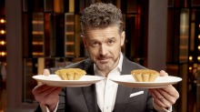 Jock Zonfrillo sets tarts racing on MasterChef Australia.