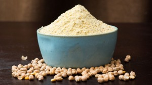Chickpea flour is mildly nutty, earthy and gluten-free.