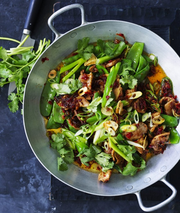 You can use store-bought XO sauce for this stir-fry if you're short on time.