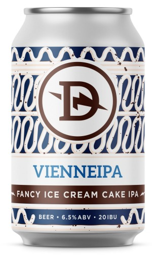 """VienneipabyDainton Beer, inspired by """"fancy ice-cream cake""""."""