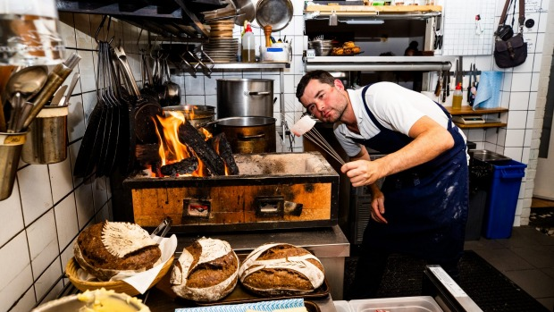 French chef David Coumont at Moxhe restaurant in Bronte. More restaurants are serving a set-menu to save on costs and ...