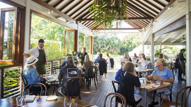 Harvest restaurant, bakery and delicatessen in the Byron hinterland town of Newrybar.