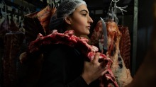 """""""I was asked by an older man if being a female butcher was legal in NSW,"""" says Sciberras."""