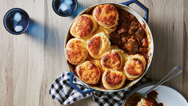 Flemish beef cobbler The Slow Cookby Justine Schofield, published by Plum, RRP $39.99.Photography by Rob Palmer Single use only - print and online