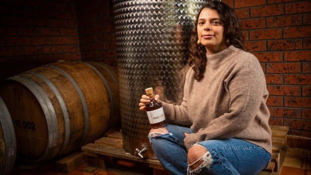 Elise West, co-founder of Melbourne boutique vermouth brand Madlore.