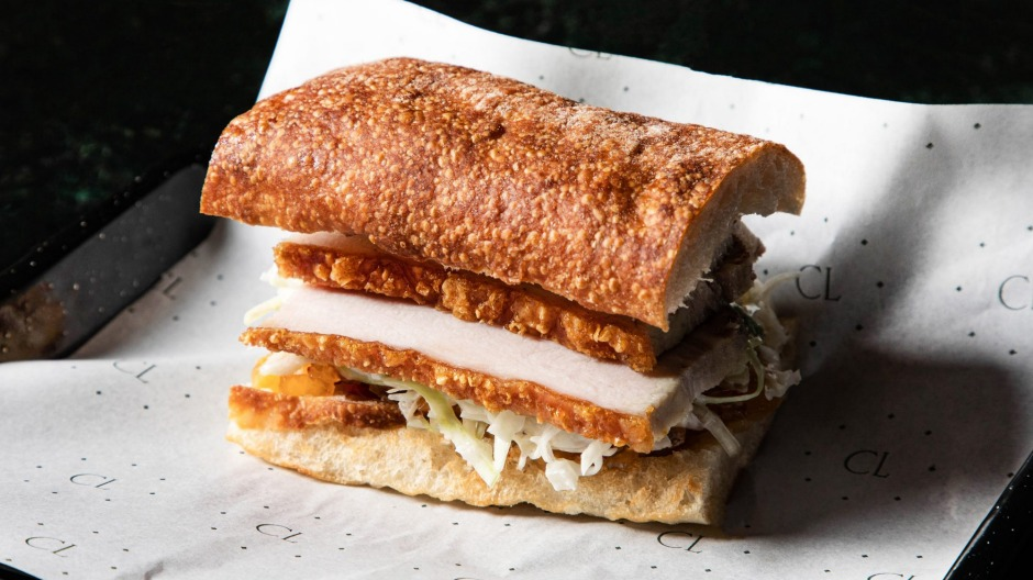 Hot pork belly and crackling rolls will be on rotation at Le Shoppe.