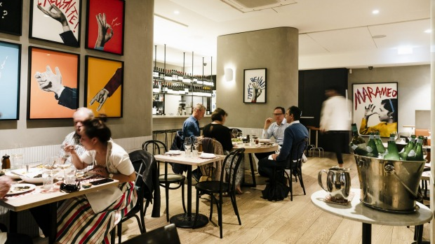 City restaurants such as Marameo may see a lot less lunch trade under new restrictions.