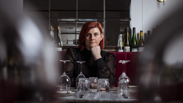 Ashleigh Dyer of Hemingway's Wine Room will not be turning to takeaways this time.