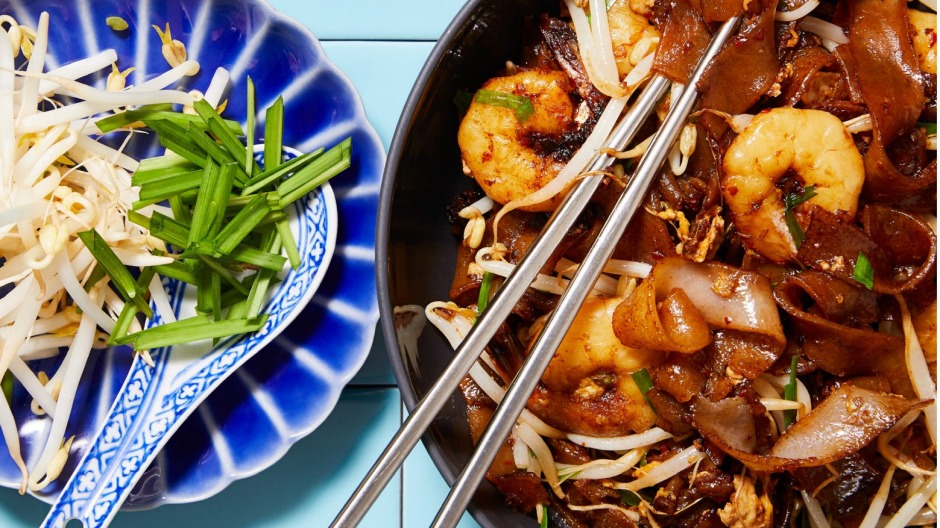 Charry flavours: Make your own char kwai teow at home.