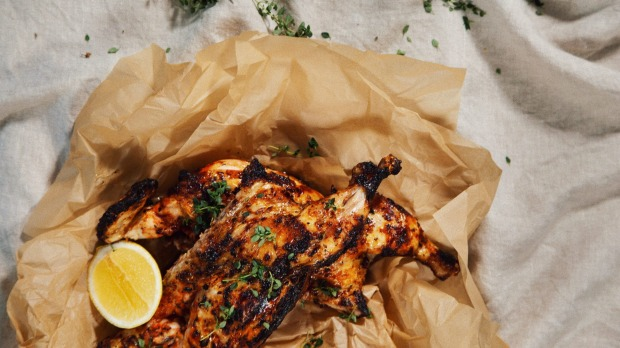Free-range Portuguese-style chicken from The Char.