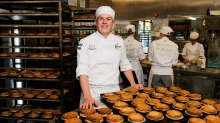 Gumnut Patisserie's Josh Nickl, a second generation family baker and NSW Apprentice of the Year.