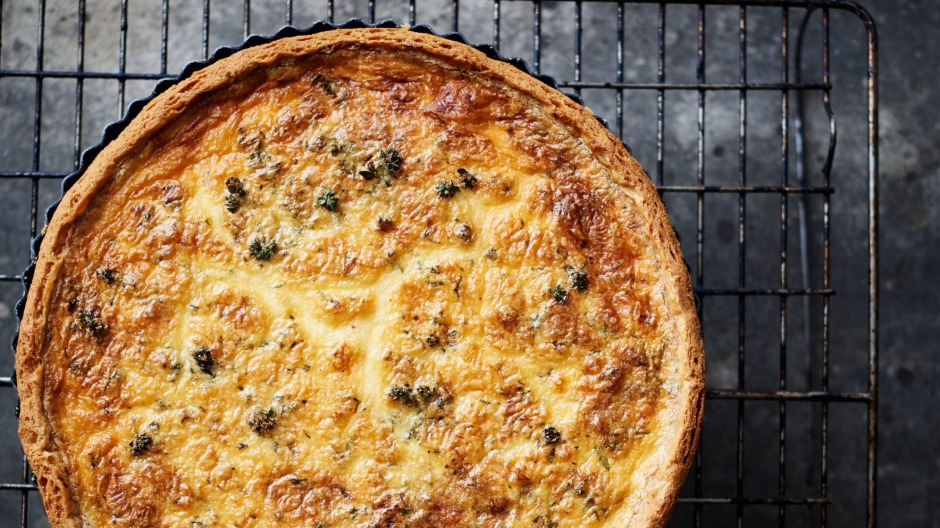 A great bacon and onion quiche relies on good ingredients and knowing and trusting your oven.