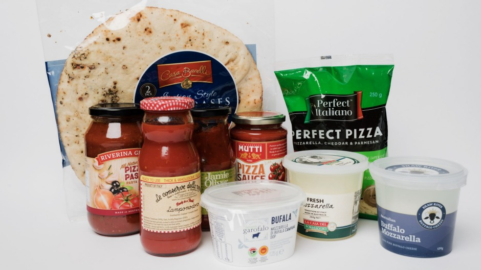 What are the best supermarket products for your next pizza party?
