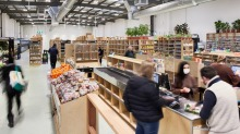 Terra Madre's new store in Brunswick has plenty of room for socially-distanced shopping.