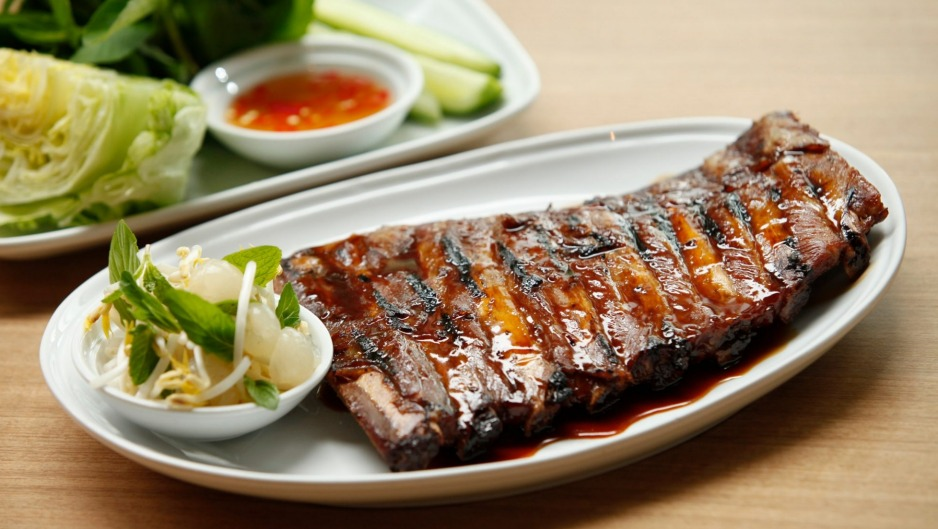 Coconut barbecue ribs, an early favourite at Dandelion.