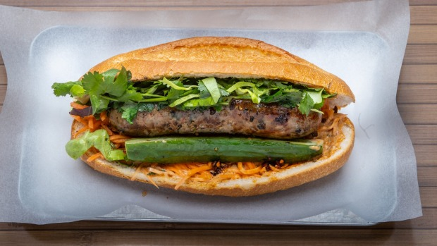 Anchovy's sausage banh mi now has a regular home at Ca Com in Richmond.