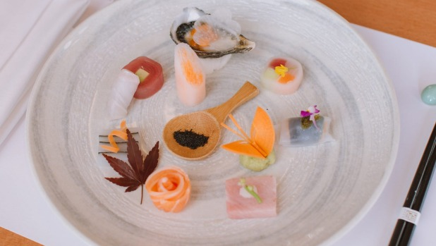 At $350 per person, Yoshii's omakase at Crown is the city's most expensive.