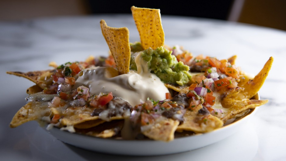 Must-try dish: Monstrous nachos for old-time's sake, a moreish mini-mountain of crunchy, chewy, spicy bean-sauced layers.