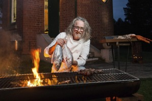 Chef Peter Ford who will be cooking bouillabaisse and porchetta outdoors at Ballarat Observatory in July.