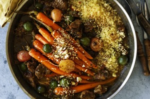 NeilPerry's lamb shoulder and carrot tagine.