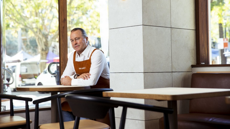 Instead of opening his new Double Bay restaurant Margaret, Neil Perry had to stand down his staff.