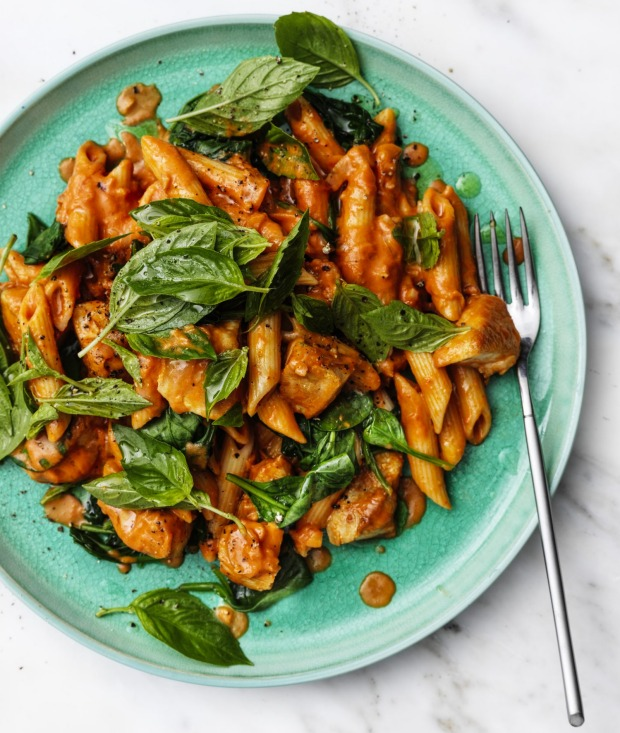 A touch of brandy takes this creamy tomato sauce to the next level.