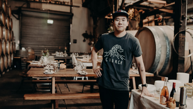 Gaspar Tse of Hotluck Pantry. For Myffy Rigby Good Food story on next-gen talent, July 29, 2021.