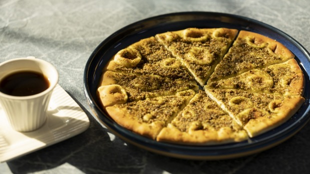 Zaatar manoush is a popular snack all over the world.