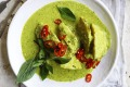 ***EMBARGOED FOR GOOD WEEKEND, JULY 3/21 ISSUE*** Neil Perry recipe :Green Curry of Roast Celeriac Photograph by ...