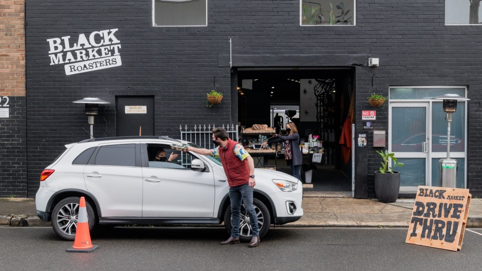 Drive-thru food and drink is back in vogue.