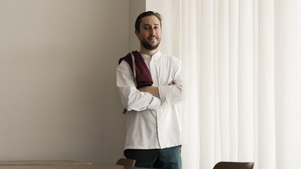 Chef Daniel Puskas from Sixpenny.