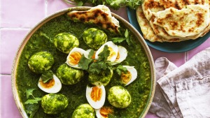 Green eggs and naan.