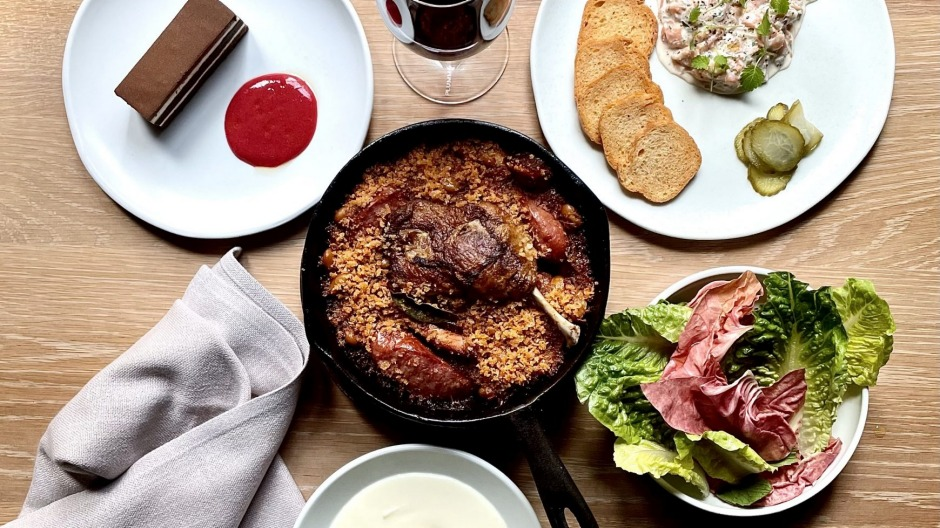 Monopole's confit duck cassoulet is one of many meals Providoor will deliver across NSW.