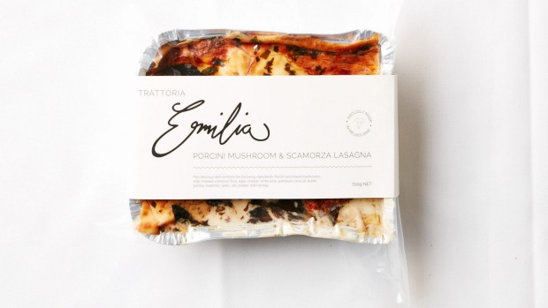 Trattoria Emilia makes three different lasagnes, stocked at independent grocers around Melbourne