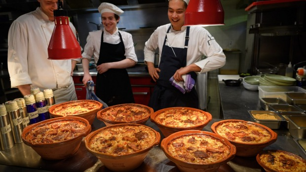 Cassoulet at Philippe