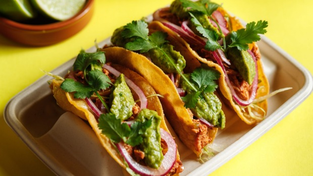 Chicken tinga tacos are on the opening menu.