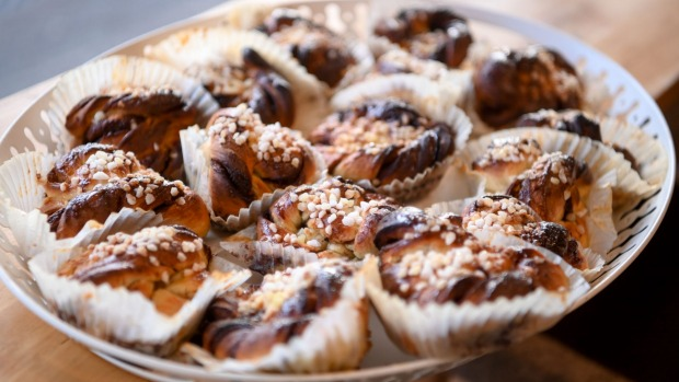 Inner West Swedish Baker's cardamom and cinnamon scrolls, the item that started it all.