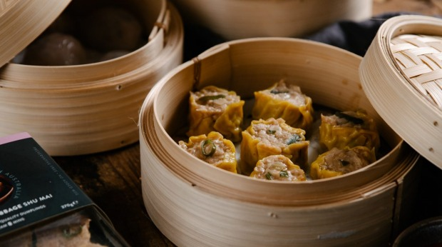 The new OrientalTeahousedumpling range is launching in selected Coles supermarkets on August 30, 2021 Soy pork and cabbage shu mai Supplied PR photos