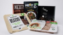 Plant-based meat products from imposter beef to fake bacon and faux chicken.