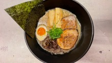 Customers can pick up freshly made ramen or frozen home packs.