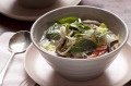Karen Martini's Vietnamese chicken and rice noodle soup.