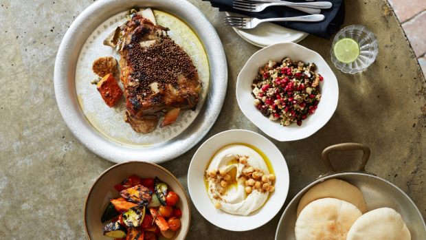 Terry Durack reviewHarvestBites KeposStreet Kitchen - MichaelRantissiturns a simple meal of slow-cooked lamb shoulder into a Middle Eastern feast, $100. Supplied