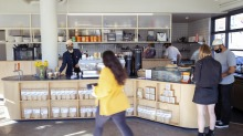 Soulmate is a bright open-plan cafe on a native plant-filled corner in residential Newtown.