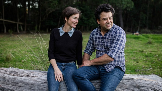 Michael and Cressida Cains, founders of Pecora Dairy in Robertson, NSW.