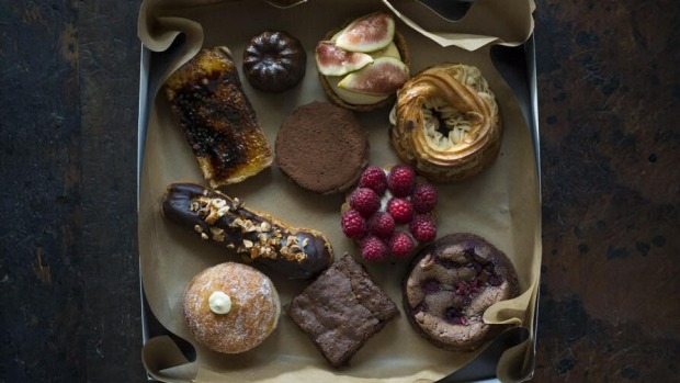 Flour and Stone, 10-piece selection box, $70 plus delivery Photographer: Alan Benson Supplied