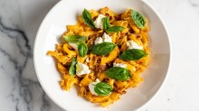 Pasta from Northcote newcomer Zsa's.